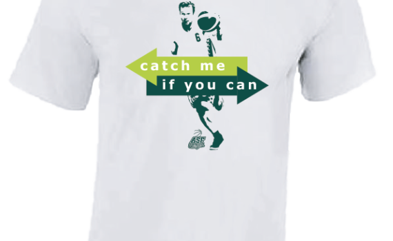 T-SHIRT Catch me if you can