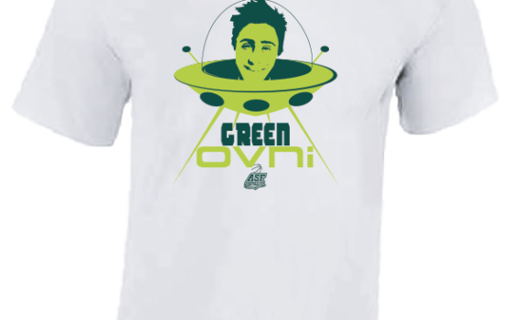 T-SHIRT Green OVNI